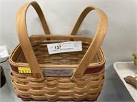 Longaberger 2003 Woven Memories Basket