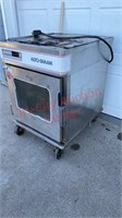 Alto Sham Cook & Hold Oven on wheels. Was Working