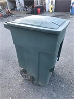 Large Rolling Trash Can
