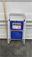 New Elevate 2 Step Folding Stool / Step Ladder