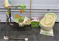 Baby Lot. Jungle Swing, Fisher Price Glider