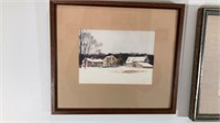 Six Framed Prints