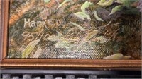 Bobcat / Turtle Print on Canvas