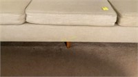 Florence Knoll Sofa with Wooden Legs