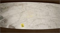 Custom Made Marble Top Coffee Table