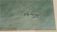 M. Gidding Framed Art