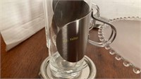 Set of 8 Glass & Pewter Mugs and More