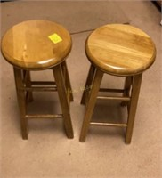 Wooden Barstools