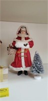 Clothtiques Santa's and Mrs. Claus, and More