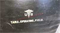 Vintage US Military Field Operating Table