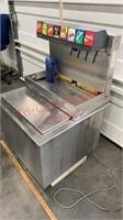 Coca Cola Fountain Soda Machine. Needs drain tray