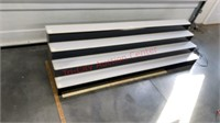 Lighted Display Shelf 70 inches long x 18 1/4