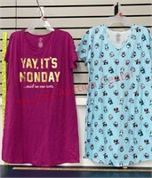 2 Size Small/ Medium (6-10) Ladies Night Gowns