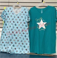 2 New Size Large/ XL (14-18) Ladies Night Gowns