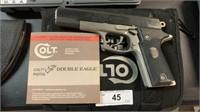 Colt double eagle series 90 .45 cal pistol