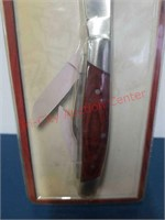 New Winchester 3 blade wood stockman knife.
