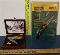 2 new pocket knives - Deer handle & Carolina