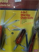New Sheffield 32 function knife set.