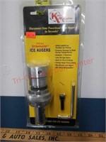 Kwik Koupler powerhead connector for ice augers.