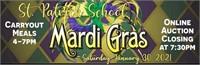 2021 St. Patrick School Mardi Gras Online Auction
