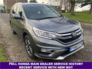 2017 HONDA CRV at TruckLocator.ie