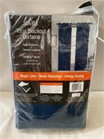 Sunblk Total Blackout Curtains 2 Panels - Everly