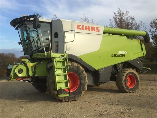 2013 CLAAS LEXION 660