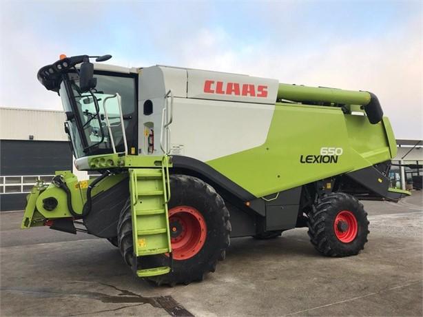 2016 CLAAS LEXION 650