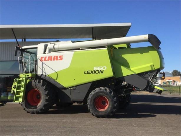 2011 CLAAS LEXION 660