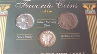 Favorite coins of the last century