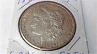 1878 CC Morgan silver dollar