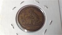 1849 California token