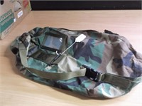 Military surplus clothes sporting and racing clothes etc