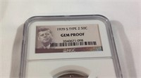1979S type 2 half dollar Gem proof