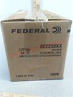 1000 rds 223 American Eagle ammo ammunition