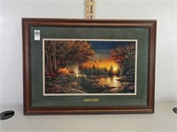 Terry Redlin evening solitude print / picture