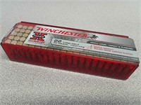100 rds Winchester Super X 22LR ammo ammunition