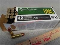 50 rds Remington UMC 38 Special ammo ammunition
