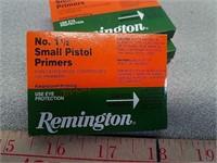 400 Remington no. 1 1/2 small pistol primers