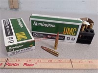 40 rds Remington UMC 300 Blackout ammo ammunition