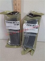 2 new PMAG 30-round AR-15 rifle magazines 5.56 /