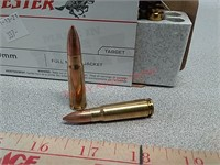 20 rds Winchester 7.62 x39 ammo ammunition FMJ