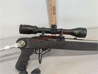 Ruger 10/22 .22lr semi auto rifle gun, bushnell