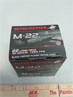 500 rds Winchester 22LR ammo ammunition