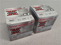 50 rds Winchester Super X 410 gauge shotgun