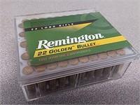 100 rds Remington 22LR ammo ammunition golden