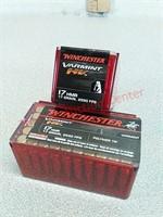 100 rds Winchester varmint 17 HMR ammo ammunition