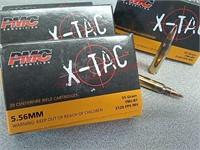 80 rds PMC x-tac 5.56 ammo ammunition FMJ