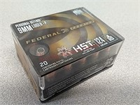 40 rds Federal 9 mm + P personal defense jhp ammo