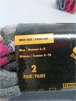 4 New Pair Browning wool socks